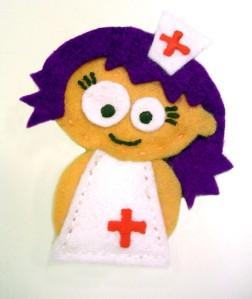 enfermera hecha